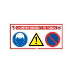 PANNEAU DE CHANTIER 4 EN 1