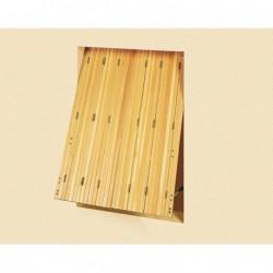 En bois, PVC ou acier